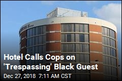 Hotel Calls Cops on 'Trespassing' Black Guest