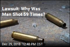 Lawsuit: Why Was Man Shot 59 Times?