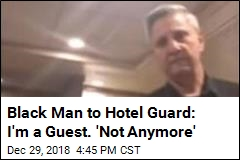 Black Man Removed From Hotel 'for Making Phone Call'