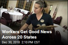 In 20 States, Workers Will Love New Year's