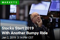 Stocks Start 2019 With Another Bumpy Ride