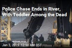 Toddler Among 3 Dead After SUV Crashes Into River During Police Chase