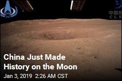 Spacecraft Makes First-Ever Landing on Moon's Dark Side