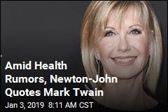 Newton-John: Happy New Year. No, I'm Not Dead