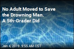 No Adult Moved to Save the Drowning Man. A 5th-Grader Did