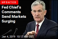 Fed Chief's Comments Send Markets Surging