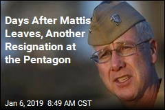 Days After Mattis Leaves, Another Resignation at the Pentagon