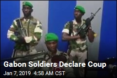 Gabon Soldiers Declare Coup