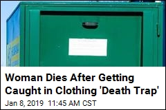 Another Person Dies Caught in Clothing Donation Bin