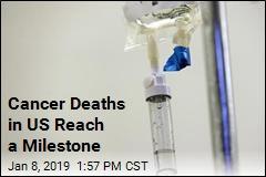 Cancer Deaths in US Reach a Milestone