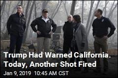 Trump: No More FEMA Money for California