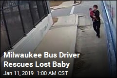 Milwaukee Bus Driver Rescues Lost Baby