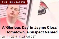 A 'Glorious Day' in Jayme Closs' Hometown, a Suspect Named