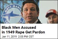 Black Men Accused in 1949 Rape Get Pardon