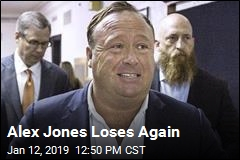 Alex Jones Loses Again