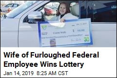 Great Timing: Furloughed Worker's Family Wins Lottery