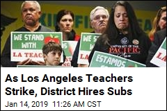 Teachers in Nation's 2nd-Largest District Strike