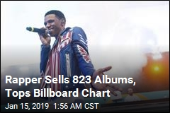 Rapper Scores No. 1 With Record Low Sales