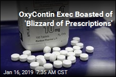 OxyContin Exec Boasted of 'Blizzard of Prescriptions'