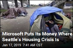 Microsoft's Largest Pledge Ever Will Tackle Seattle Housing Crisis