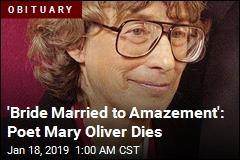 Beloved Poet Mary Oliver Dies at 83