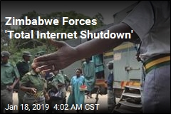 Zimbabwe Forces 'Total Internet Shutdown'