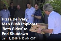 Dubya's Shutdown Contribution: Pizza