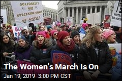 The Women's March Is On