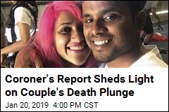 Coroner's Report Sheds Light on Couple's Death Plunge