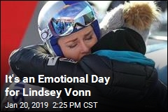 Vonn: 'It's Time to Say Goodbye'