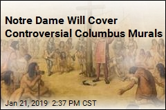 Notre Dame Will Cover Controversial Columbus Murals