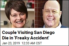 Falling Tree Kills Couple Visiting San Diego