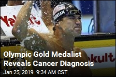 Olympic Gold Medalist Reveals Cancer Diagnosis