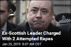 Ex-Scottish Leader Charged With 2 Attempted Rapes