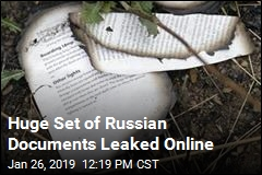 Huge Set of Russian Documents Leaked Online