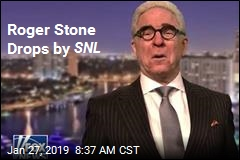 Roger Stone Drops by SNL