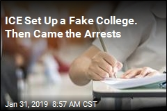 ICE Set Up a Fake College. Then Came the Arrests