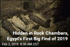 Egypt's First Big Find of 2019: 40 Mummies