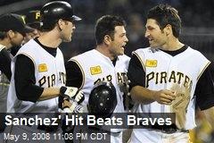 Sanchez' Hit Beats Braves