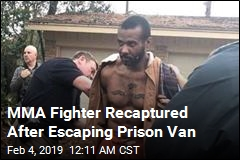 MMA Fighter Wanted in 2 Killings Recaptured