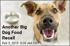 Another Big Dog Food Recall