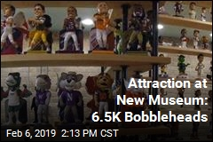 Attraction at New Museum: 6.5K Bobbleheads