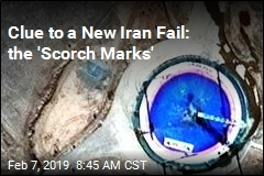 Burn Scars Spotted on Iranian Launchpad