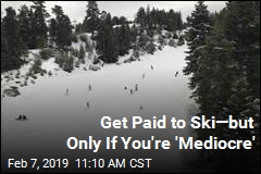 Get Paid to Ski—but Only If You're 'Mediocre'