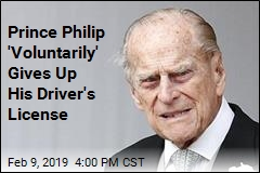 Prince Philip 'Voluntarily' Gives Up His Driver's License