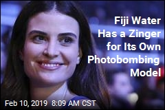 Fiji Water Countersuing Its Photobombing Model