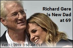 Richard Gere Is a New Dad at 69