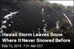 Hawaii Has Snow Where It Never Snowed Before
