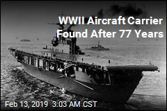 WWII Aircraft Carrier Found After 77 Years