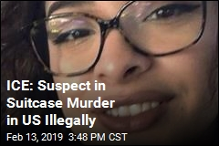 ICE: Suspect in Suitcase Murder in US Illegally